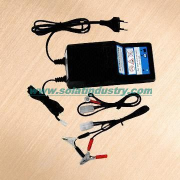 Motorcycle battery charger SLT02